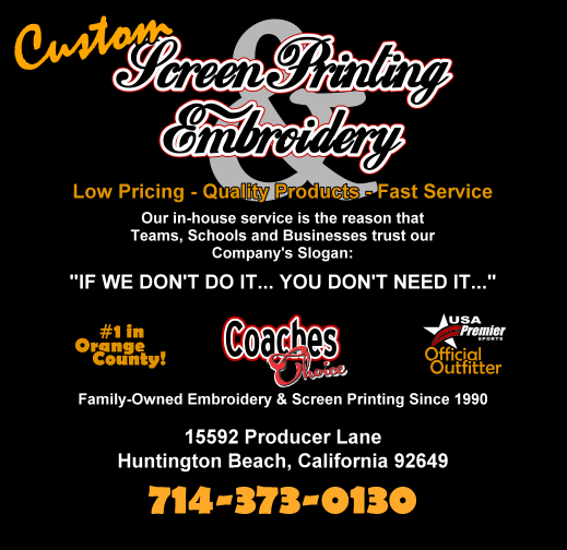 Coaches Choice: Custom Screen Printing and Embroidery Since 1990